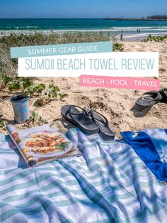 We spend a huge amount of time at the beach during the summer and finding the right gear makes it easy and fun.  In this Sumoii beach towel review find out why we are loving it and the features that make it stand out.  If you think a towel is a towel this might just change your mind. #summerstyle #sumoii #beachtowel Brisbane, Melbourne, Sydney, Packing Tips For Travel, Travel Advice, Packing Lists, Travel Necessities, Travel Essentials, Travel Must Haves