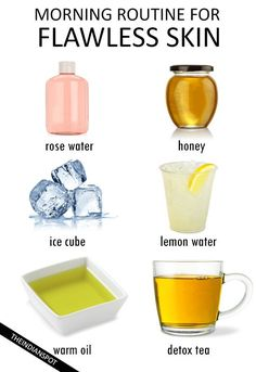 MORNING ROUTINE FOR FLAWLESS SKIN