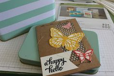 Tips for assembling the Stampin' Up! Tin of Cards kit