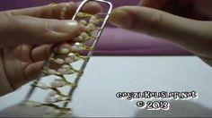 How To Make Crochet : Firkete Tulbent Oyasi Nasil Yapilir 1