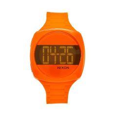 Nixon Women's A168877 Dash Marmalade Orange Rubber Orange dial Watch NIXON. $46.35. Orange rubber strap. Water resistant. Japanese quartz movement. Orange dial. Orange plastic case. Save 49% Off!