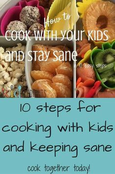 How to cook with your kids and stay sane in 10 easy steps