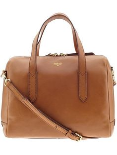 Fossil camel leather purse