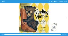 Finding Winnie: The True Story of the World's Most Famous Bear #no 2  #1 point