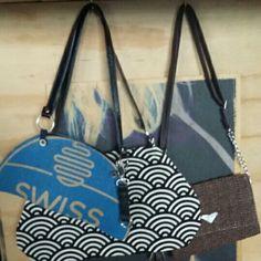 maricialovesdesign 'swiss half moon bag' + retro black + white bag are originals ~ upcycled, designed + made ~ stylish! Upcycle, Typography, Moon, Facebook, Black And White, The Originals, Retro, Stylish, Bags