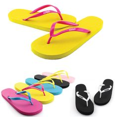 Beach Flip Flop...The flip flop comes with PVC straps and 1.5mm thick EVA sole. It is hot sale item in the summer. Customized logo can be printed both on the strap or sole making the brand exposure. Assorted colors are available. Price per piece