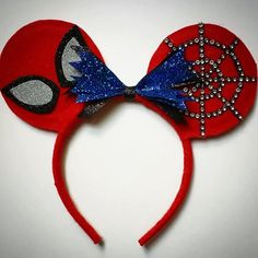 Girls & Boys Custom Made Spiderman Ears. One of a por MakeMeMinnie