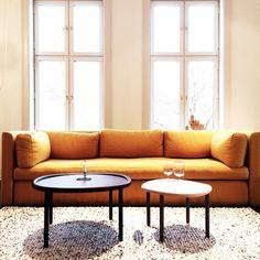 Hackney Sofa HAY 3 -seter Gul