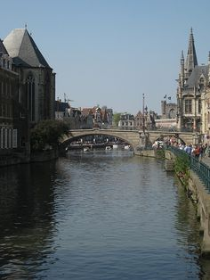 Brugge - Belgium--many times in this beautiful city! Love the canals!