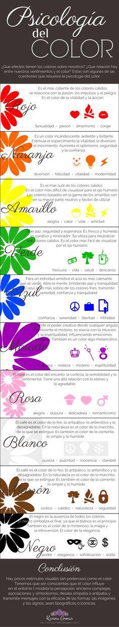 Psicología del color http://pompomfiesta.blogspot.com/2014/08/psicologia-del-color.html
