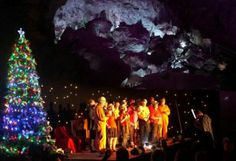 Carols in the Caves, NSW Finalist - Australian Tourism Awards 2011 -  Festivals and Events @QATAINFO #Australia Jenolan Caves, the world's oldest dated cave system, and Australia's premier tourist cave destination, has hosted a much loved event for almost 20 years the annual Carols in the Caves. Every December the Grand Arch, one of the world's greatest natural amphitheaters, is transformed into a Christmas wonderland.