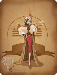 Disney Steampunk Character Cutomization Images Woot woot!  Cruella, timeless even in the steampunk era