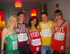 Taco Bell Sauces - 2012 Halloween Costume Contest