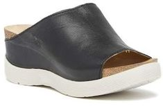 FLY London Wigg Platform Wedge Slide Sandal #wedge