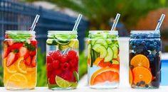 In forma per l'estate con la Detox Water. Bevande dissetanti e buone. Ideali per purificare l'organismo. www.ecomarket.bio
