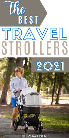 Here are the BEST travel strollers for 2021! This ultimate guide to travel strollers is a must-read for moms on the go! Get tips for which stroller is best for you, whether you're looking into travel strollers for an airplane, for toddlers, for an infant or baby, for twins, the best light weight travel stroller, or a travel stroller system, you'll find great advice to help you make the perfect choice! Travel With Kids, Family Travel, Best Travel Stroller, Flying With A Baby, Family Vacation Destinations, Friends Mom, Strollers, Airplane, Toddlers