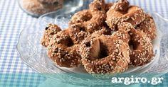 Εύκολα κουλουράκια με σουσάμι από την Αργυρώ Μπαρμπαρίγου | Νηστίσιμα και τέλεια κουλουράκια σουσαμιού για κέρασμα, για τα παιδιά και τον καφέ!