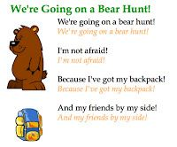 We're Going on a Bear Hunt! Smart Board receptive and expressive language activity!