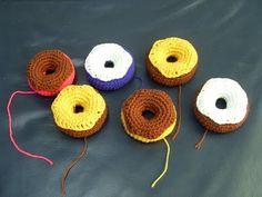 Crochet.is.Fun: free pattern: donut amigurumi