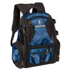 Bass pro shops xps stalker backpack tackle bag or for Browning fishing backpack