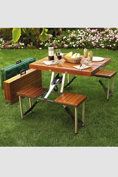 Portable Picnic Table Set  - need this