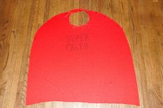 The Kid-Friendly Home: The Simple DIY No-Sew Kid's Cape