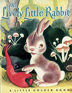 Vintage illustration Easter Books, Little Golden Books, Little Puppies, Christmas Books, Pulp Fiction, Vintage Books, Vintage Children, Childrens Books, Kid Books