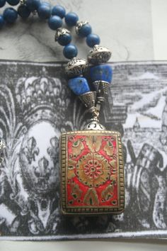Your place to buy and sell all things handmade Red Jewelry, Gothic Jewelry, Heart Jewelry, Statement Jewelry, Jewellery, Unusual Jewelry, Handmade Jewelry, Celtic, Red Accessories