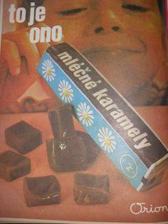 Karamelky Childhood Memories, My Favorite Things, Socialism, Czech Republic, Vintage, Nostalgia, Vintage Comics, Bohemia