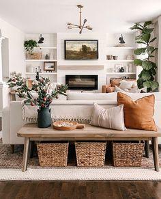 Boho Living Room, Home And Living, Living Room Decor, Simple Living, Living Room Inspiration, Home Decor Inspiration, Cozy House, Apartment Living, Home Interior Design