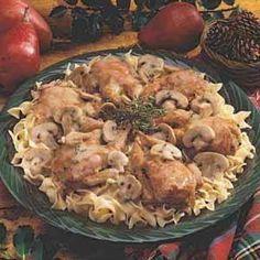 Quail in Mushroom Gravy Recipe | Taste of Home