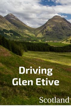 Glen Etive is one of the most scenic roads in Scotland. Off the beaten path in Glencoe, if offers montains and river landscapes aml the way to the wild Loch Etive. Discover it with video, photo and info to plan your own trip when you travel to Scotland. Scotland Travel Guide, Scotland Vacation, Scotland Road Trip, Scotland Uk, England And Scotland, Edinburgh Scotland, Ireland Travel, Scotland Hiking, Glencoe Scotland