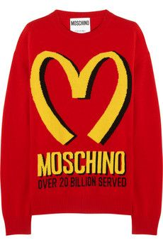 Moschino sweater, 30% off (for more Cyber Monday deals -- http://chicityfashion.com/cyber-monday-sales/)