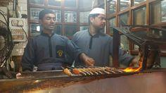 Seekh kabab Purani Dilli mein