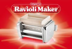 Imperia Raviolimaker for Pasta Maker, 2-Ravioli Attachment. Discontinued by Imperia.  $64.99