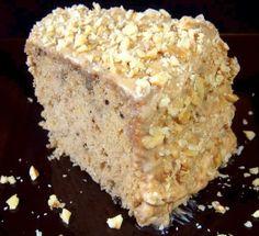 One Perfect Bite: Maple-Nut Chiffon Cake