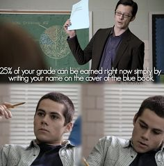 Oh stiles lol. Teen Wolf
