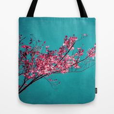 RED AUTUMN Tote Bag by  #VIAINA