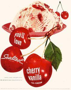1955 ~ Sealtest Ice Cream vintage ad