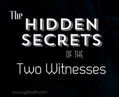 Explanation of Gematria used in the Hidden Secrets of The Two Witnesses, read all about it here.
