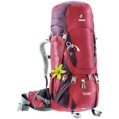Deuter Aircontact 60 10 SL Pack Aubergine Cranberry One Size ** To view further for this item, visit the image link. (This is an affiliate link) Hiking Gear, Hiking Backpack, Backpack Hacks, Evolution, Hiking Essentials, Backpack Online, Golf Bags, Luggage Bags, Parka