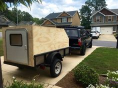 Utility trailer teardrop/ off roadish camper build - Expedition Portal