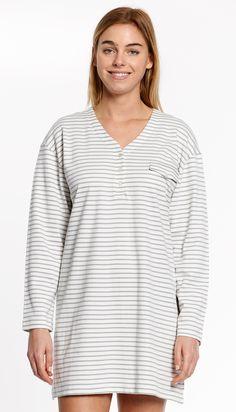 a518f24636 P.jamas Oxford Stripes nightshirt
