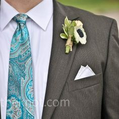 White Anemone Boutonniere Andrew's boutonniere was a mini cluster of anemones and rolled pages of a novel. Boutonnieres, Floral Wedding, Wedding Flowers, White Anemone, Affordable Wedding Venues, Creative Wedding Ideas, Next Wedding, Wedding Flower Inspiration