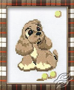 Little Puppy Susi - Cross Stitch Kits by RIOLIS - 321