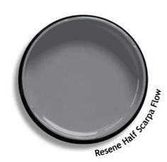 Resene Half Scarpa Flow Grey Exterior, Exterior House Colors, Exterior Paint, Paint Schemes, Colour Schemes, Colour Chart, Paint Swatches, Color Swatches, Resene Colours