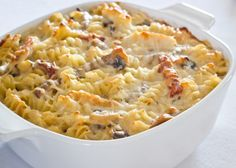 Baked Rotini with Chicken and Tomatoes   Daydream Kitchen