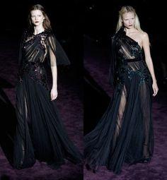 Gucci, oscuro romanticismo.