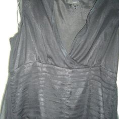 Beautiful Top. LTC00029 Sleeveless sheer evening top with wrap around tie WDNY  Tops Blouses