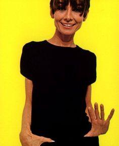 Audrey Hepburn photographed by William Klein (in Paris, in September 1966)